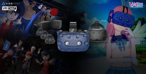 HTC、VRヘッドマウントディスプレイ「Vive」に「Vive Tracker」が3個付属したVTuber向けセットモデルを発売