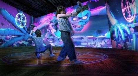 新感覚VR/ARアトラクション 「オバケハンター」が東日本に初導入決定