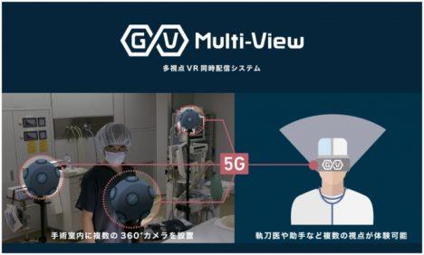 ジョリーグッド、5Gによる遠隔リアルタイム医療研修VRの実証実験をジョンソン・エンド・ジョンソンおよびNTTドコモと共同で開始