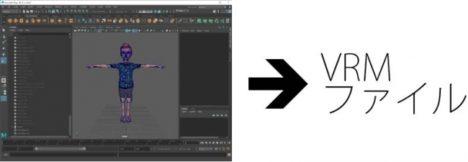 カシカ、自作の3Dファイルを簡単にVRMファイルへエクスポートできるMaya用プラグイン「VRM Exporter」を無償公開