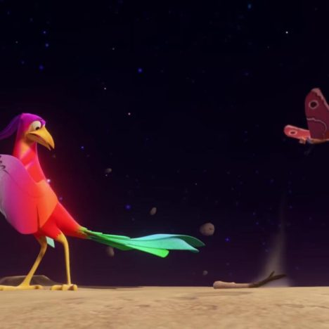 【レビュー】カラスはなぜ黒い?ネイティブ・アメリカンの言い伝えを映像化したVRショートアニメ「クロウ:伝説」