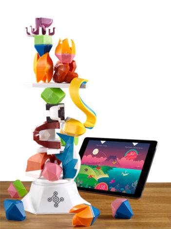 スマホと実物のフィギュアが連動するバランスゲーム「ビーストオブバランス」が日本国内のApple Storeにて販売開始