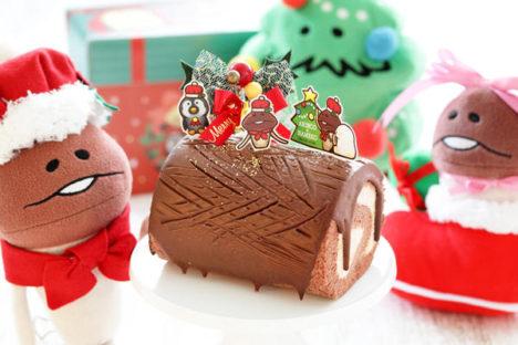 なめことロールケーキ専門店「ARINCO」がクリスマスコラボを実施 「なめこの巣」のゲーム内でもコラボアイテムを配信