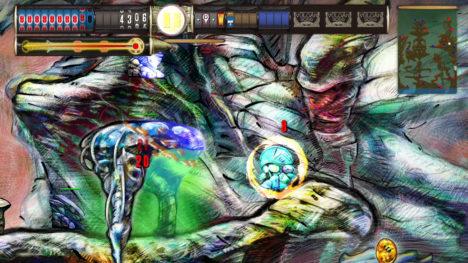美しい手描きアートグラフィックのスマホ向けアクションゲーム「VULCAN 3055」がリリース