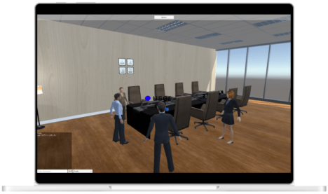 OPSION、3Dバーチャルオフィス「Metaria」αテスト版の事前登録受付を開始