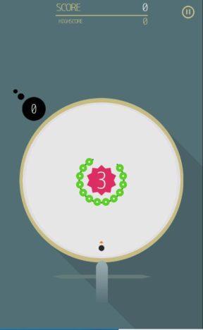【レビュー】ボールの跳ね返りを読め!シンプルかつスタイリッシュな回転アクションゲーム「CuruCuruCrash」