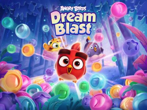 Rovio、「アングリーバード」シリーズの最新作「Angry Birds Dream Blast」をリリース
