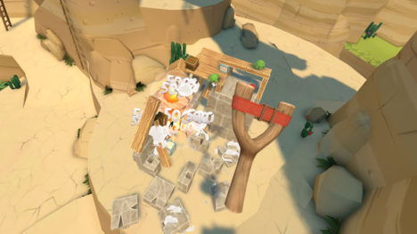 Rovio、「アングリーバード」シリーズのVRゲーム「Angry Birds VR: Isle of Pigs」をリリース