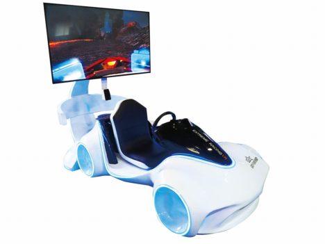 VRアミューズメント筐体「フォトンバイク」と「フォトンカー」が浅草花やしきに登場