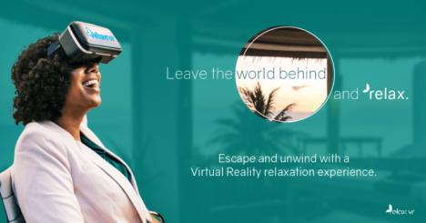 脳トレー二ングジムのブレインフィットネス、不安やストレスを低減するリラクゼーションVR「relax VR」をプログラムに導入