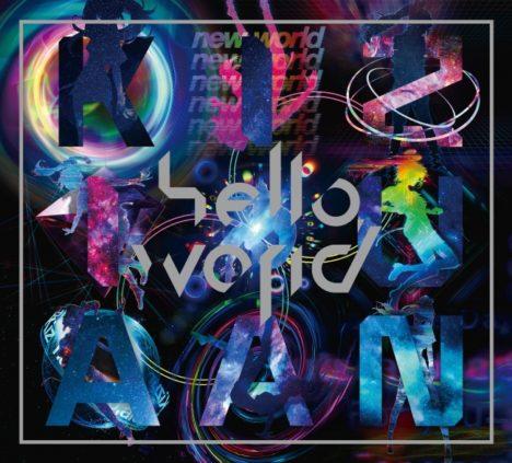キズナアイ初のフルアルバム「hello, world」が本日リリース