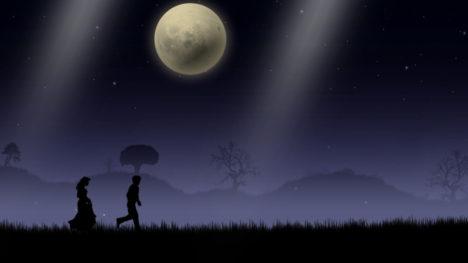 夜道を歩く癒しの散歩シミュレーションゲーム「Blue Moon」のSwitch版が配信開始