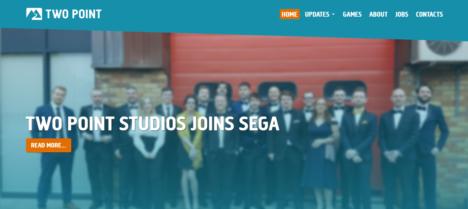 セガゲームス、イギリスのインディーゲームスタジオのTwo Point Studiosを買収
