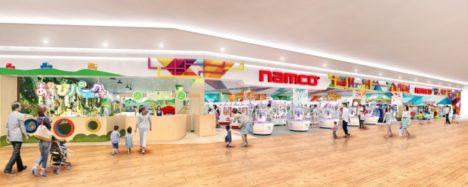 バンダイナムコアミューズメント、キッズプレイグラウンド施設とVR体験ゾーンを併設した「namcoサンエー浦添西海岸パルコシティ店」を6/27にオープン