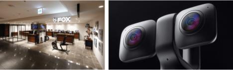 360°/VR180°カメラ「VUZE XR」、阪急メンズ東京のセレクトショップ「FOX」で取り扱いを開始