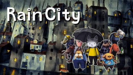 絵本のようなグラフィックのSwitch向け美麗アドベンチャー「Rain City」が6/27にリリース 本日より体験版を配信開始
