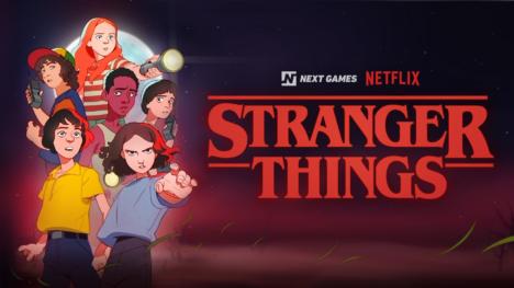 フィンランドのNext Games、Netflixのオリジナルドラマ「ストレンジャー・シングス」のスマホゲームを開発