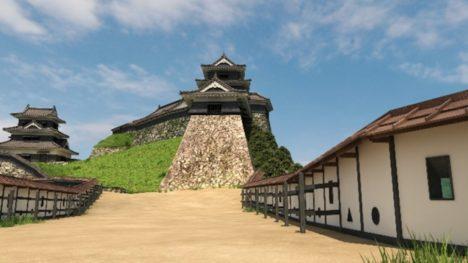 凸版印刷、江戸時代の津和野城をVRで復元