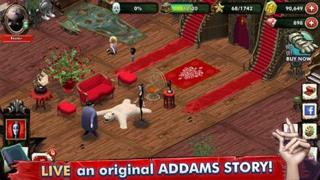 Animoca Brands子会社のPixowl、アニメ映画「アダムス・ファミリー」の公式スマホゲームを開発