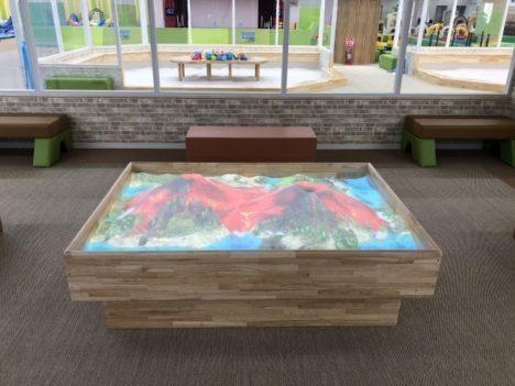 デジタル・ガーデン、ARで進化した学べる砂場「iSandBOX」をピュアハートキッズランドに導入
