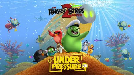Rovio、「アングリーバード」の新作映画のVRゲーム「The Angry Birds Movie 2 VR: Under Pressure」をリリース