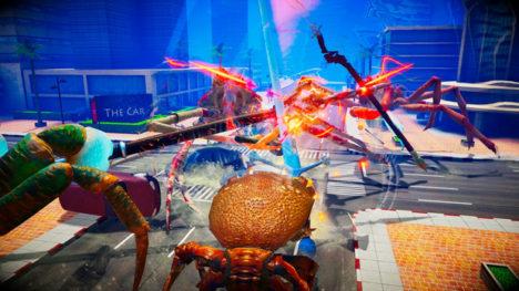 武装したカニが戦うバトルアクションゲーム「カニノケンカ」、アーリーアクセス版を配信開始
