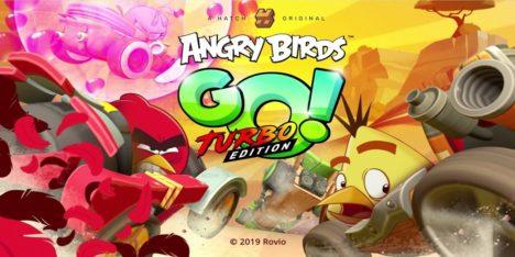 Rovio、ゲームストリーミングサービス「HATCH」向けのオリジナルタイトル「Angry Birds Go! Turbo Edition」を配信開始