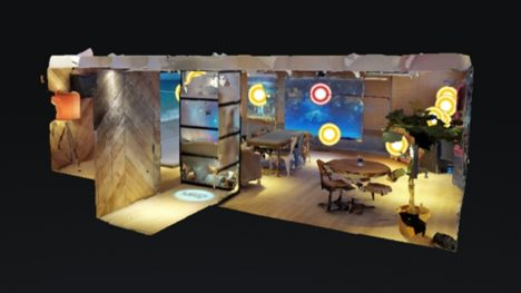 LM TOKYO、実際の「LEDビジョンショールーム」を3DスキャンしWeb上で「LEDビジョン」を体験できる3Dショールームを公開