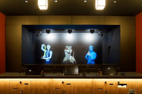 ホログラムの恐竜や忍者がフロント接客 ホログラムホテル「変なホテル東京 浅草田原町」が開業