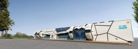 バンダイナムコアミューズメントのVRが中国・北京に進出 エンタメ企業の星葆国際と共同で「VR ZONE BEIJING」を開業