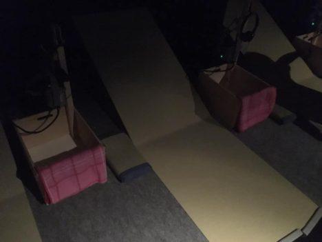 【レポート】寝転がったままで体験可能 VRとリアルを組み合わせた新感覚お化け屋敷「怨霊の金縛り屋敷」