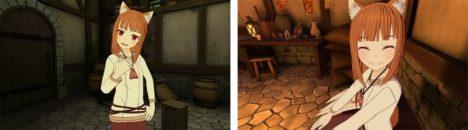 VRアニメーション「狼と香辛料VR」、Switch版とPS4版を全世界同時リリース