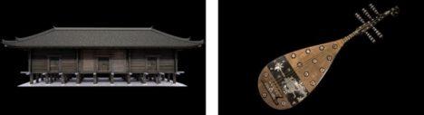 東京国立博物館と凸版印刷、正倉院「正倉」と「螺鈿紫檀五絃琵琶」をVR化