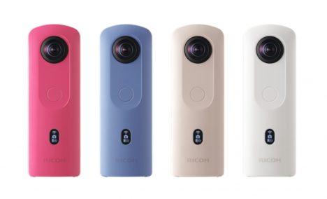 リコー、360°カメラ「RICOH THETA」のエントリーモデル「RICOH THETA SC2」を12/13に発売