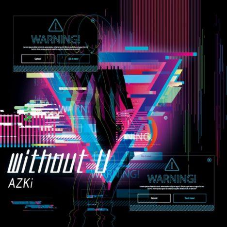 バーチャルシンガーAZKi、初のフルアルバム「without U」をリリース