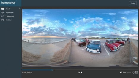 HumanEyes Technologies、VRコンテンツ編集プラットフォーム「HumanEyesCloud1.0 Beta」をリリース