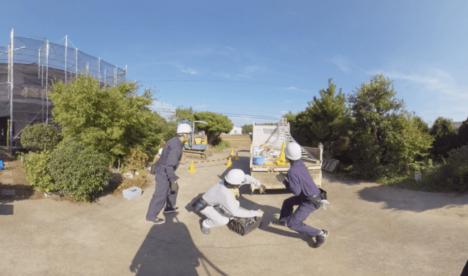 ジョリーグッドとメッドコミュニケーションズ、建築現場の安全教育を実写VRで行う「建設業向けVR安全研修ソリューション」を開発