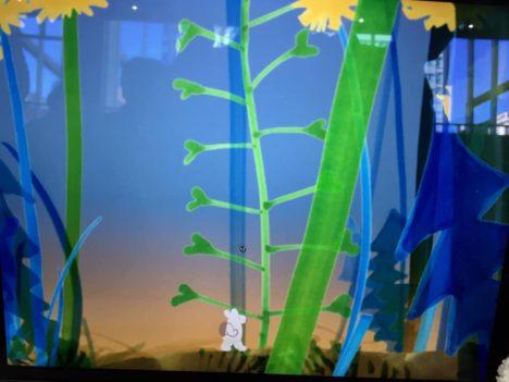 """【デジゲー博2019レポート】美しい森を彷徨うウサギを導こう---絵に""""介入""""するアクションゲーム「Wander in Wonder」"""