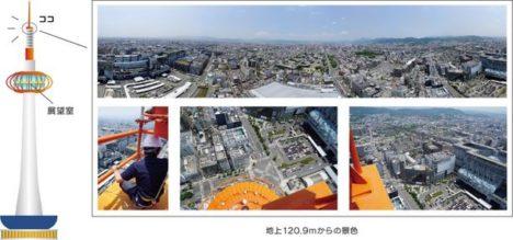 「京都タワーVRバンジー」のアンコール開催が決定 展望室より更に高い地上120.9メートルからのジャンプを体験可能