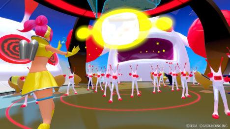 グランディング、「スペースチャンネル5」のVRゲーム「スペースチャンネル 5 VR あらかた★ダンシングショー」をリリース