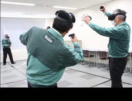クリーク・アンド・リバー社ときんでん、名同時にVR体験が可能な「VR高所作業車逸走災害体感教育ツール」を共同開発