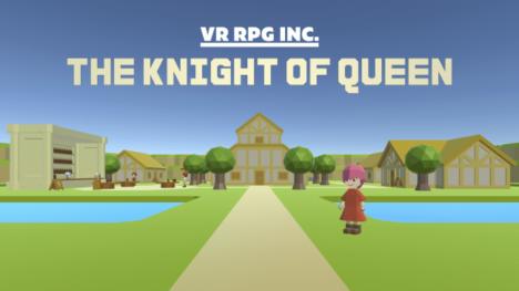 VR専用ターン制コマンドバトルRPG「ナイトオブクイーン」のSteam版、5/29に発売決定